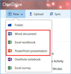 2 - creating files from onedrive