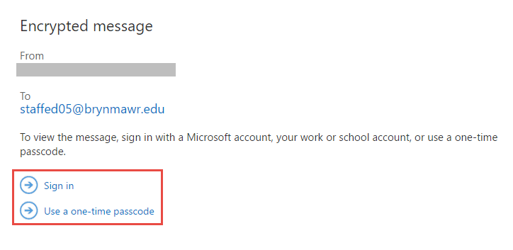 Using Email Encryption in Office 365 : Tech Documentation